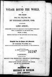Cover of: A voyage round the world
