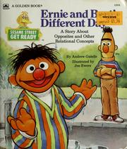 Cover of: Ernie and Bert's different day
