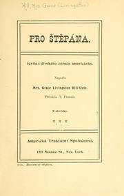 Cover of: Pro Stepána.