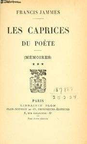 Cover of: Mémoires.