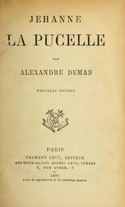 Cover of: Jehanne la Pucelle