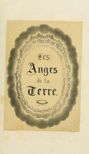 Cover of: Les anges de la terre