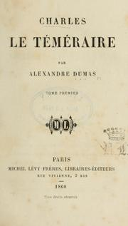Cover of: Charles le téméraire: Tome 2