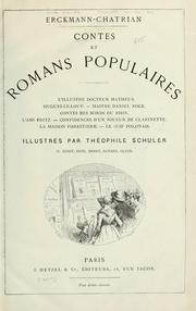 Cover of: Contes et romans populaires