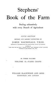Cover of: Stephens' Book of the farm