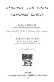 Cover of: Flowers and their unbidden guests