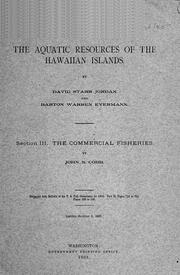 Cover of: The commercial fisheries [of the Hawaiian Islands]