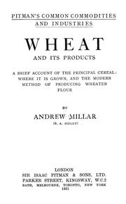 Cover of: Wheat and its products