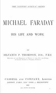 Cover of: Michael Faraday