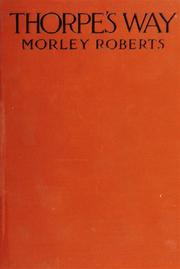 Cover of: Thorpe's way
