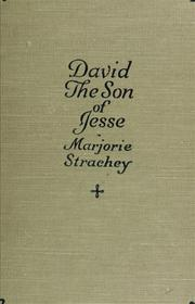 Cover of: David, the son of Jesse