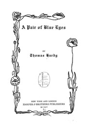 Cover of: A Pair of Blue Eyes