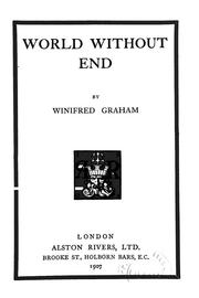 Cover of: World without end.
