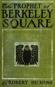 Cover of: The prophet of Berkeley Square