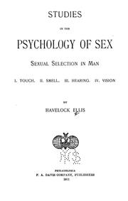 Cover of: Sexual selection in man