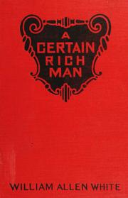 Cover of: A certain rich man.