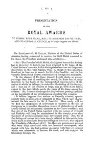Cover of: Address at the anniversary meeting of the Royal Geographical Society, 26th May, 1856
