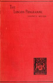 Cover of: The London programme