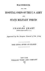Cover of: Handbook for the Hospital Corps of the U.S. Army and state military forces