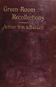 Cover of: Green-room recollections
