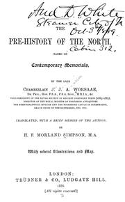 Cover of: The pre-history of the North