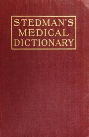 Cover of: A practical medical dictionary ...