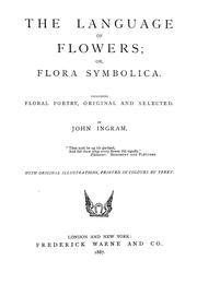 Cover of: The language of flowers