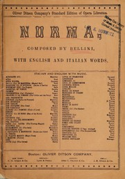 Cover of: Bellini's opera Norma