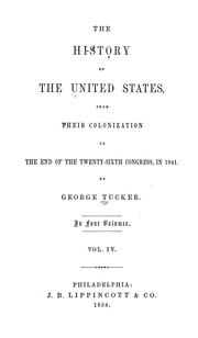 Cover of: The history of the United States