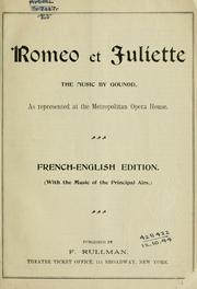 Cover of: Romeo et Juliette.
