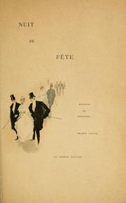 Cover of: Nuit de fête.