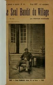 Cover of: Le seul bandit du village