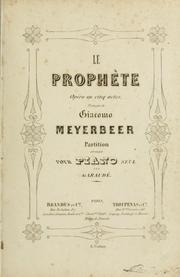 Cover of: Le prophète