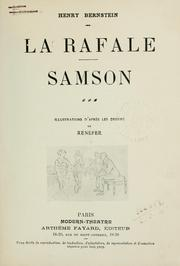 Cover of: La rafale.