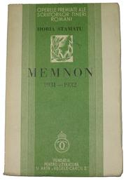 Cover of: Memnon