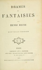 Cover of: Drames et fantaisies