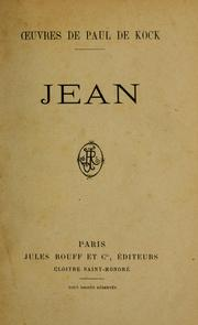 Cover of: Jean