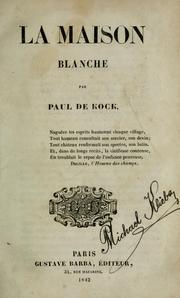 Cover of: La maison blanche