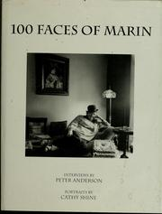 Cover of: 100 faces of Marin