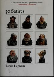 Cover of: 30 satires