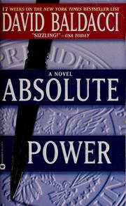 Cover of: Absolute power