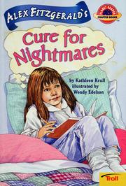 Cover of: Alex Fitzgerald's cure for nightmares