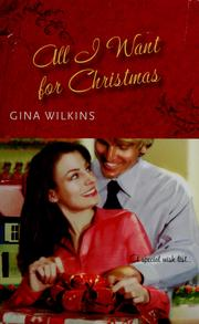 Cover of: All I want for Christmas