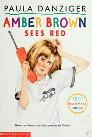 Cover of: Amber Brown sees red
