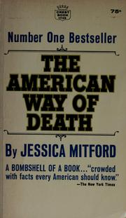 Cover of: The American way of death.