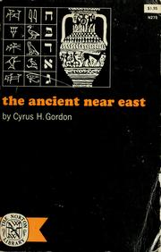Cover of: The ancient Near East.