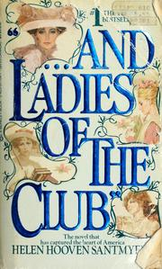 "Cover of: ""---and ladies of the club"""