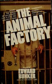Cover of: The animal factory