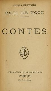 Cover of: Contes ; [illustrations inédites de J. Wely]