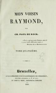 Cover of: Mon voisin Raymond